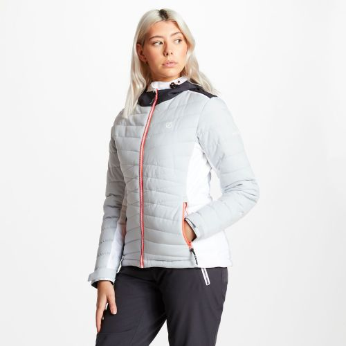 Women's Simpatico Quilted Ski Jacket - Argent Grey